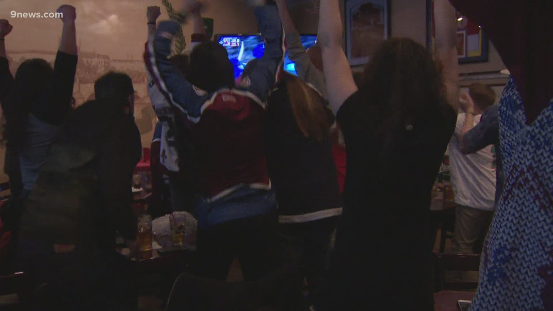 Fans pack into South Broadway bar to cheer on the Avs