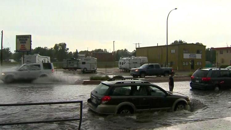 West Colfax flooding