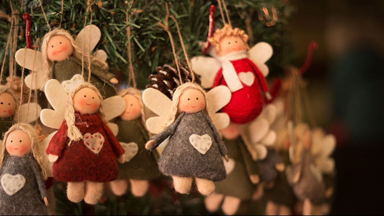 Angel christmas ornament crafts
