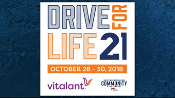 Vitalant, Broncos have a new game plan for Drive for Life 21