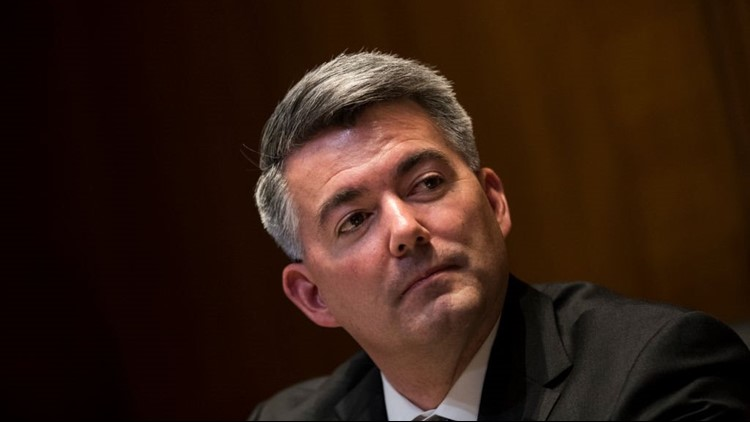 Days after his wife reportedly received a beheading video via text message, Sen. Cory Gardner (R-Colorado) called for civility.