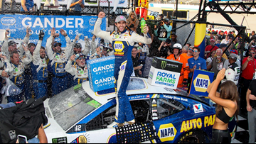 Chase Elliott wins NASCAR playoff race at Dover as another major crash mars finish