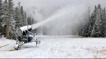 Historic snowfall at the Loveland Ski Area