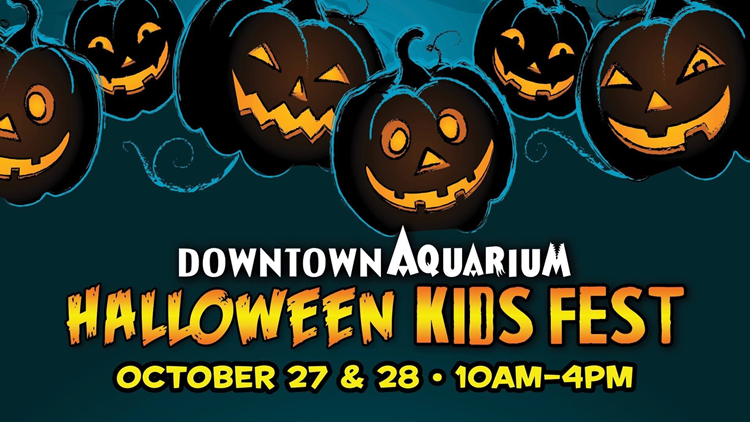 Halloween Kids Fest Downtown Aquarium