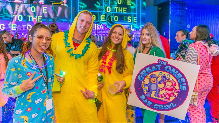 The Great Onesie Bar Crawl