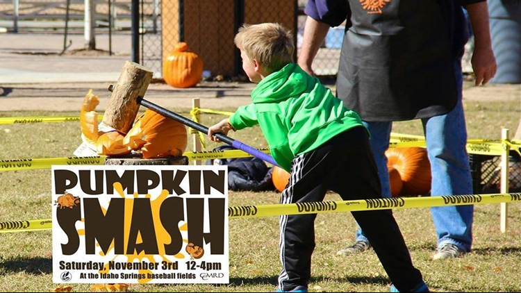 Pumpkin SMASH idaho springs