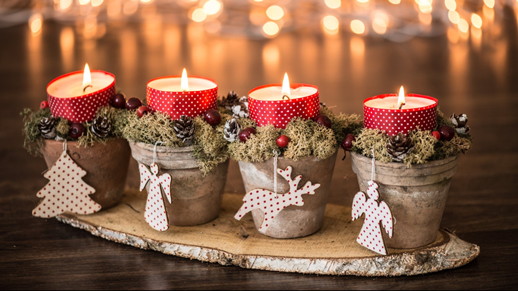 christmas craft show candles