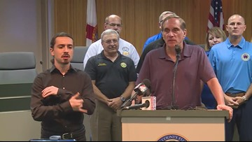 Mandatory evacuations start Tuesday for Clay County