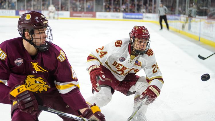 Colin Staub   DU hockey