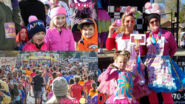 The Great Candy Run collage