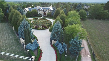 This nearly 18,000-square-foot luxury home in Cherry Hills Village is listed for $9.95M