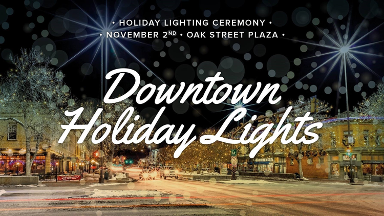 Downtown Ft Collins Holiday Lighting