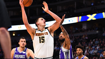 Jokic's double-double leads Nuggets over Kings, 126-112