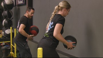 Using medicine balls to fire up your workout