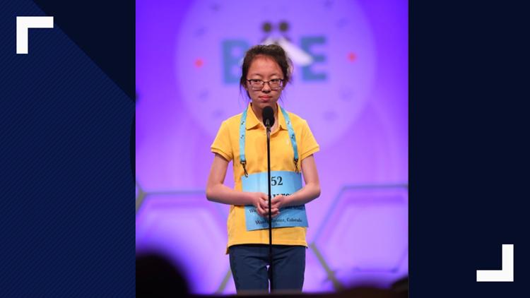 Lauren Guo, 2019 Scripps National Spelling Bee finalist