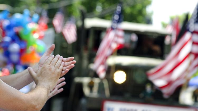 Veterans day parade thinkstock