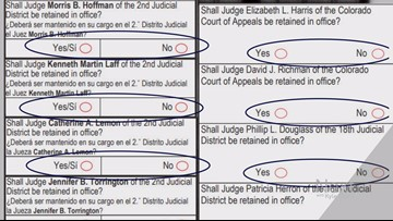 How Coloradans can judge judges on their ballots