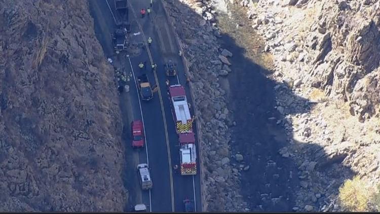 U S  34 just west of Loveland back open following crash | 9news com