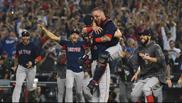 Red Sox beat Dodgers 5-1 in Game 5 to win World Series title