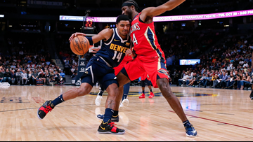 Harris sparks Nuggets to 116-111 win over depleted Pelicans