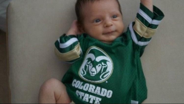 Bryce Krisl was born to be a CSU fan.