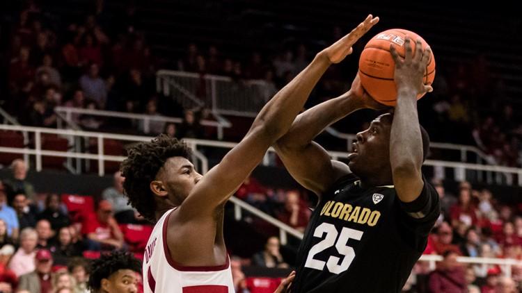 Colorado Stanford basketball Colorado Buffaloes guard McKinley Wright IV