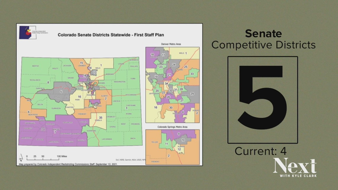 Democrats likely to keep control with Colorado's new redistricting map