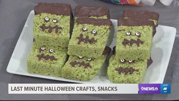 Last-minute Halloween crafts for before and after trick-or-treating