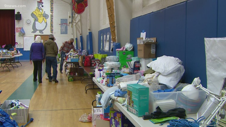 Fire victims continuing to help others in need
