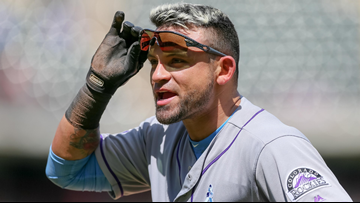 Colorado Rockies decline $12.5M option on outfielder Gerardo Parra