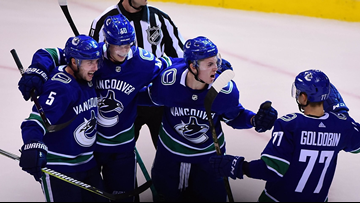 Canucks prevail 6-5 in overtime against Avalanche