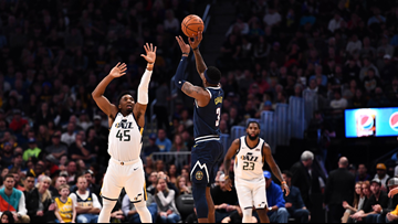 Harris scores 20, Nuggets rally in 4th and beat Jazz 103-88