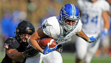 Air Force falls to rival Army 17-14