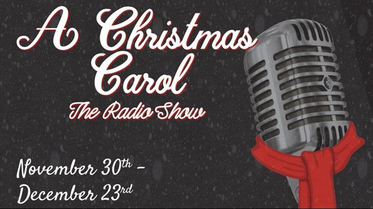 Christmas Carol Radio Show Vintage Theatre