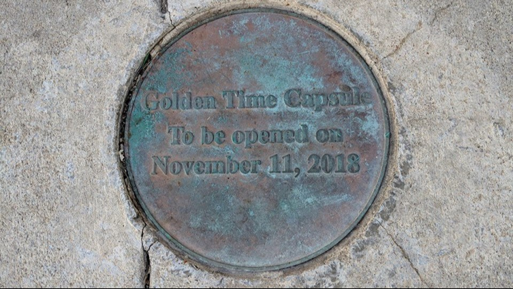 Time Capsule Opening Golden Colorado