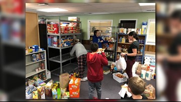 A school in Lakewood collects food and clothing for other Jeffco Schools