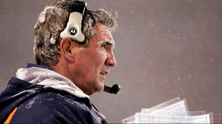 Mike Shanahan 2004 snow