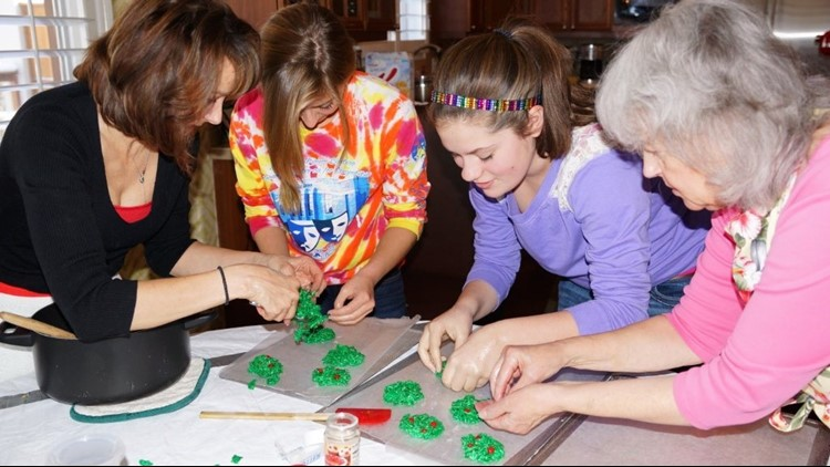 Holiday recipe: Grammie's Christmas Wreaths