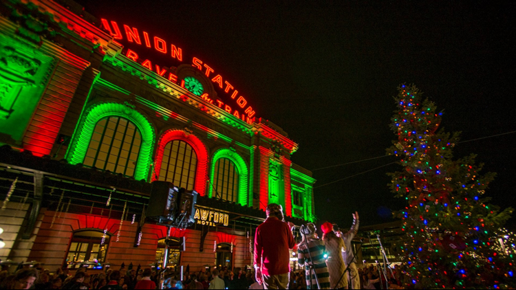 Denver Union Station's Grand Illumination 2