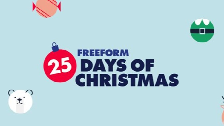 Freeform 25 days of christmas 2018