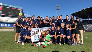Air Academy goes back-to-back for 4A boys' soccer title