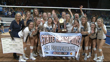 Valor Christian wins first 5A volleyball state championship