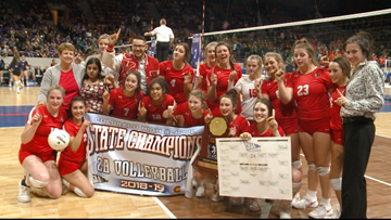Yuma sweeps 2A volleyball state championship