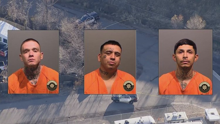 3 men arrested after woman shot to death, set on fire