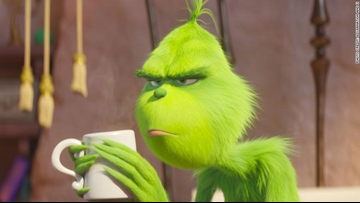 'The Grinch' delivers holiday cheer with $66M box-office debut