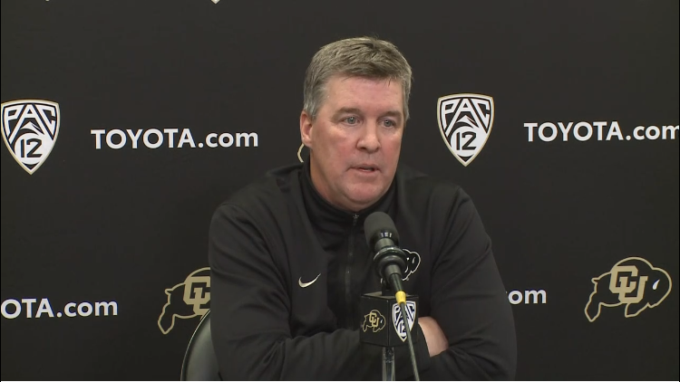 CU Athletic Director addresses football head coaching rumors