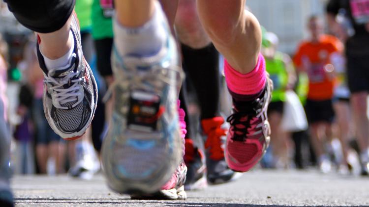 Runners feet race running NEW