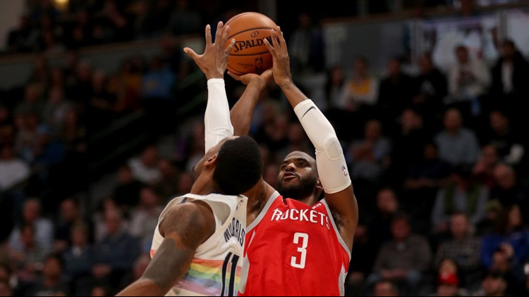 Nuggets lose fourth straight after 109-99 loss to the Rockets