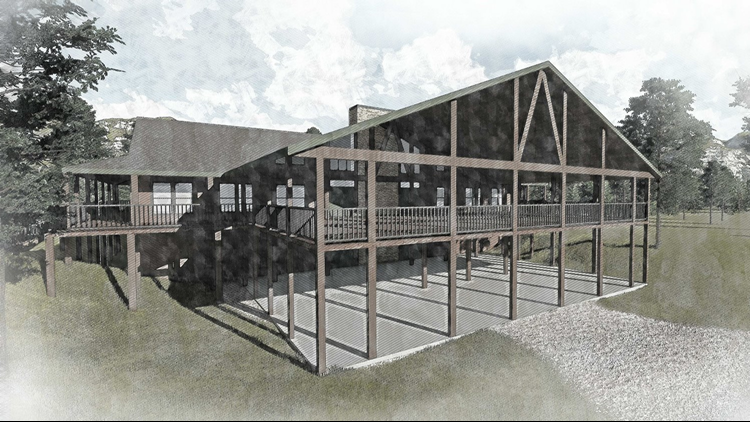 Preliminary Rendering of Dining Hall Expansion