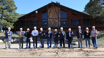 Boy Scouts break ground on Peaceful Valley dining hall project
